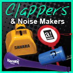Clappers & Noisemakers