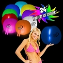 24'' Translucent Glowing Beach Ball