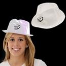White Plastic Fedora, Gangster Hat