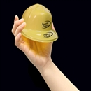 Mini Yellow Plastic Construction Hats