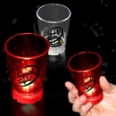 2 oz Light Shot Glass with Dice Game