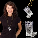 Western Boot Shot Glass Medallion