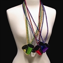 33'' Bead Necklace with 2oz Shot Glass