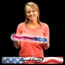 16'' American Flag Sleeved Soft Foam Lumiton