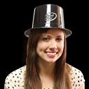 Black Plastic Top Hat