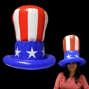 18 Inch Inflatable Uncle Sam Top Hat