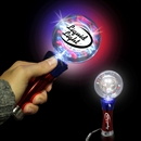 Light-Up Red-White-Blue Spinner Wand