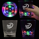 10oz Square Bottom LED Rocks Glass