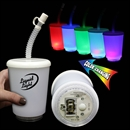 12 Ounce LED Cup with LED and Straw