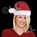 Deluxe Santa Plush Hat