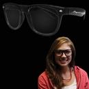Black Frame 50's Glasses