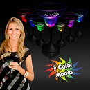 10 oz Black Stem Light Up Frosted Top Margarita