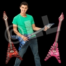 40'' Assorted Color Flying V Guitars