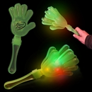11'' Green Light Up Hand Clappers