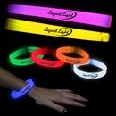9'' Deluxe Triple Wide Glow Bracelets