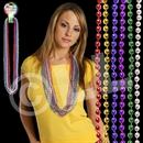 33'' (7mm) Metallic Bead Necklace