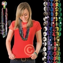 33'' Diamond Bead Assorted Color Necklaces