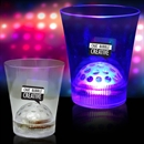 8oz Light Up LED Disco Ball Rocks Glass