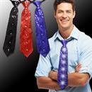 Sequin LED 14 Inch Neckties
