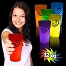 12 oz Glow Cups