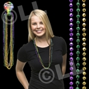 33'' (7.5mm) Disco Ball Bead Necklaces