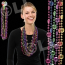 33'' Smile Bead Necklace Assorted Colors