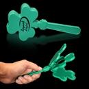 7 1/2'' Green Shamrock Clapper