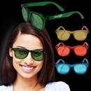 Multi Colored Blue Sunglasses