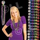 33'' Mardi Gras Dice Bead Necklaces