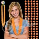33'' (7mm) Orange Bead Necklace