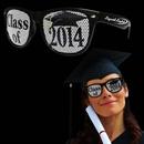 Class of 2014 Black Billboard Sunglasses