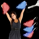 16'' Light - Up Pom Poms (Deluxe Style)