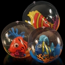 17'' Inflatable Ball with Fish