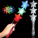 Triple Star Light Up Wand