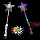 15'' Multi Color L.E.D. Star Wand