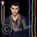 33'' Rainbow (7mm) Segmented Bead Necklace