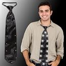Black LED Necktie - 19 Inch