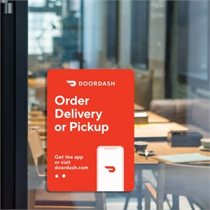 "<p class=""name"">Delivery Or Pickup  10 x 14 Window Cling</p>"