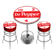 "<p class=""name"">Dr Pepper Pub Table Set </p>"
