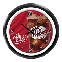"<p class=""name"">Dr Pepper Crave Clock</p>"