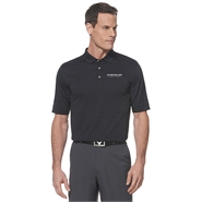 Mens Callaway Opti-Vent Polo Black