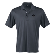 Mens Page & Tuttle Two Tone Stripe Jersey Polo